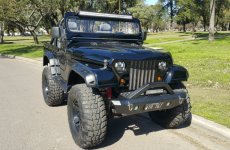 Jeep Falcon 221  Tracción Trasera
